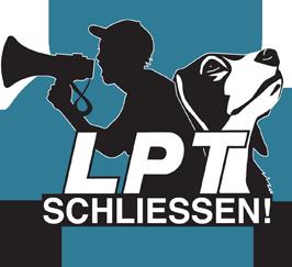 Kampagne LPT-Schließen | Tierversuche Abschaffen logo